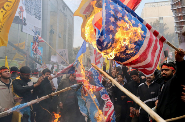 Image: Anti-American protesters in Iran mark takeover of US embassy
