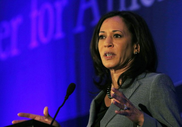 Image: California Attorney General Kamala Harris