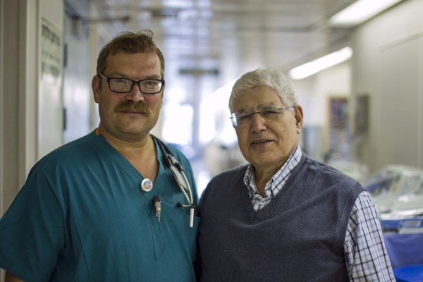 Image: Professor Ahmed Eid and Doctor Elchanan Fried