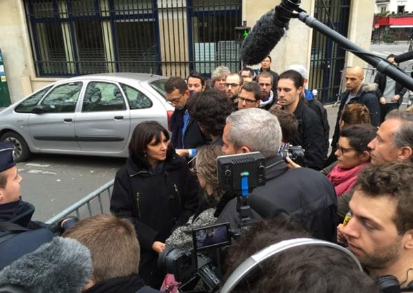 Image: Paris mayor Anne Hidalgo