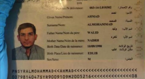 Paris terrorist entered Europe through immigrant boat