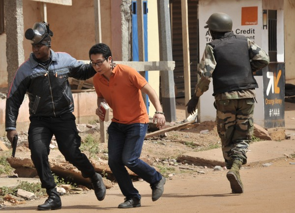 Image: MALI-UNREST-HOTEL