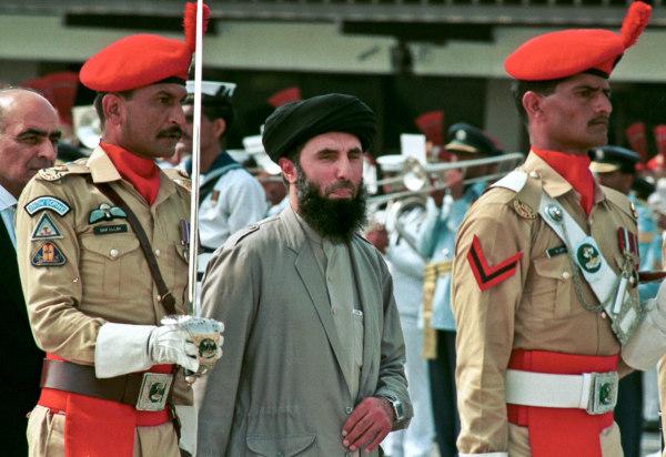 Image: Gulbuddin Hekmatyar in June 1996