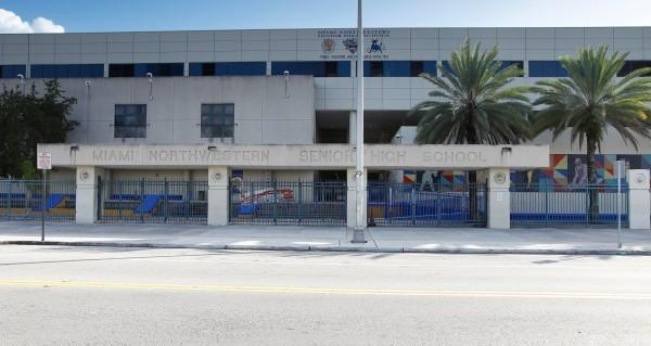 Image: Miami Northwestern Senior High School in Florida