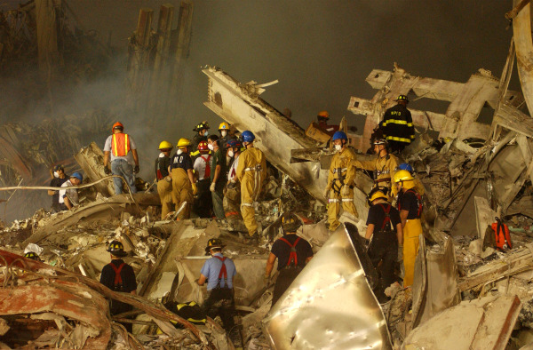 Image: World Trade Center Rubble