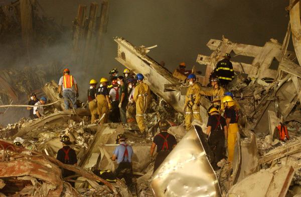 Image: World Trade Center Rubble