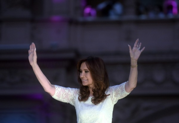 Image: Argentine President Cristina Fernandez de Kirchner