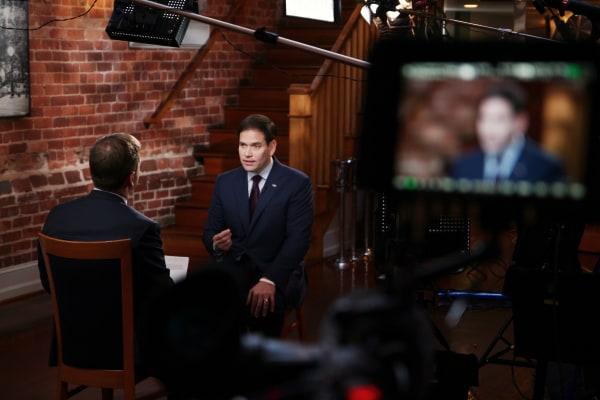 """Chuck Todd interviews Sen. Marco Rubio for """"Meet the Press"""""""