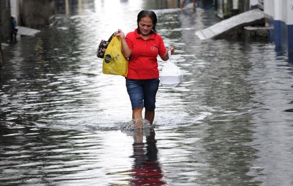 Image: PHILIPPINES-STORM-WEATHER