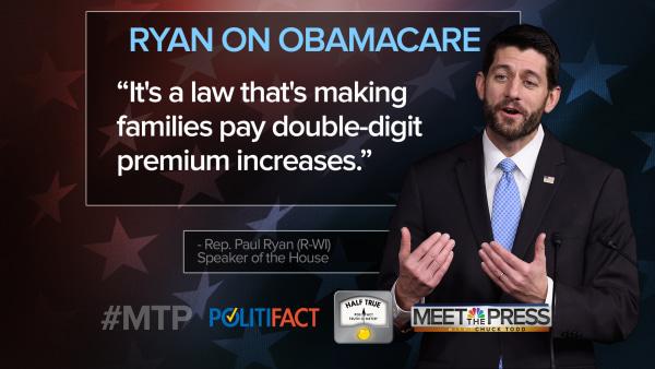 MTP Politifact Check Speaker Paul Ryan