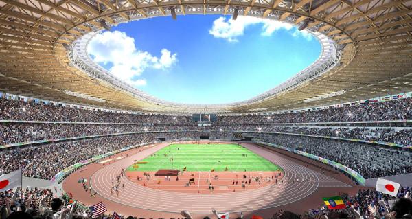 Image: New design for 2020 Tokyo Olympic Stadium