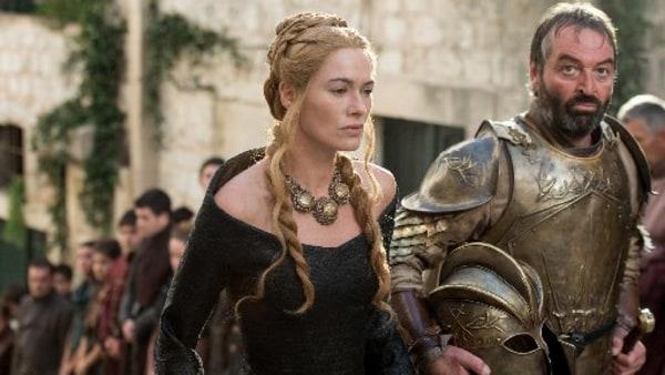 Image: Lena Headey, Ian Beattie in 'Game of Thrones'