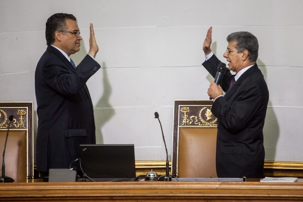 Image: National Assembly Installation in Caracas