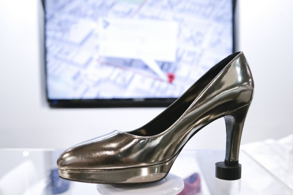 Image: A high heel Digitsole smart shoe