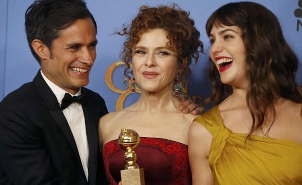 Image: Gabriel Garcia Bernal, Bernadette Peters and Lola Kirke