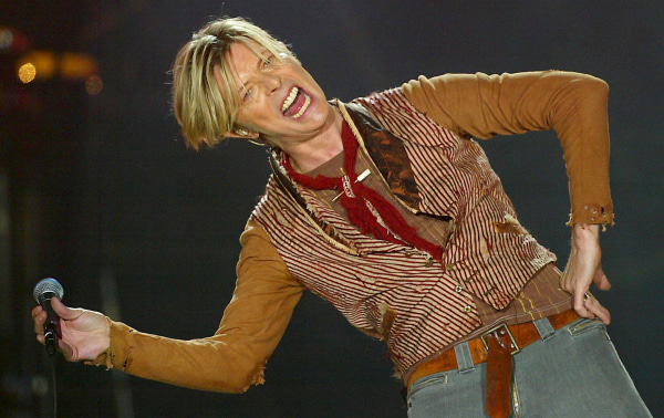 Image: David Bowie in 2003