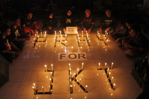 Image: Memorial to Jakarta victims