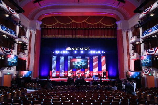 Image: Democratic Presidential Candidates Debate In Charleston, South Carolina