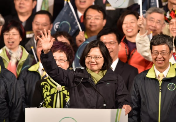 Image: Tsai Ing-wen