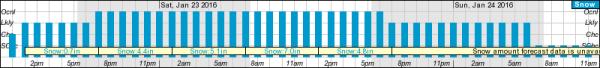 IMAGE: Washington-Baltimore snow forecast graph