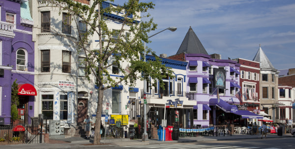 Adams Morgan is a culturally diverse neighborhood in NW, Washington, D.C.