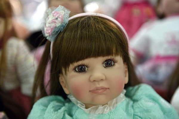 "Image: ""Child angel"" doll"