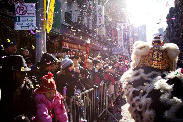 Image: New York City's Chinatown Celebrates Lunar New Year