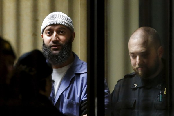 Image: Adnan Syed leaves the Baltimore City Circuit Courthouse in Baltimore, Maryland