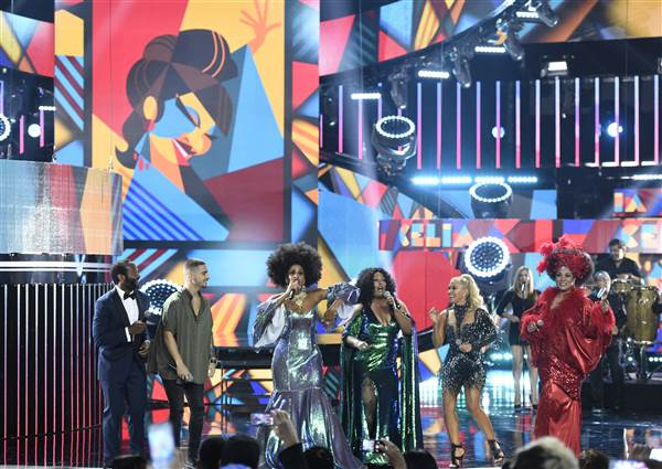 Tribute to Celia Cruz at the Latin American Music Awards at the Dolby Theater in 2015