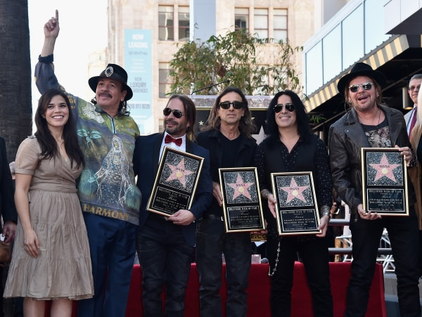 Maná Honored With Star On The Hollywood Walk Of Fame