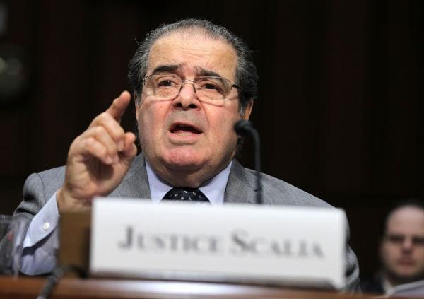 Image: Supreme Court Justices Scalia And Breyer Testify Before Senate Judiciary Cmte