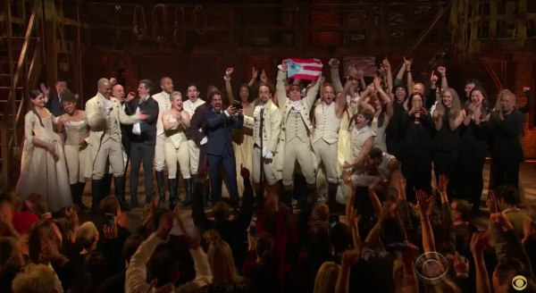Hamilton, Lin-Manuel Miranda, GRAMMY, Best Musical Theater Album