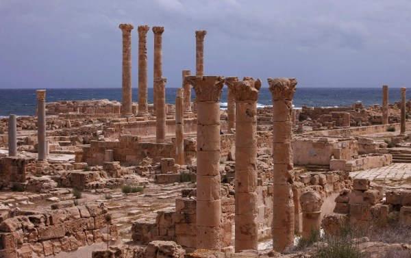 Image: The city of Sabratha is home to Roman ruins