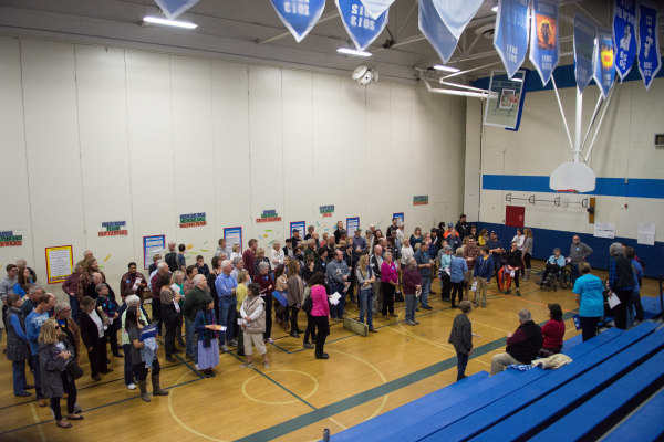 Image: Nevada Hosts Its Democratic Caucus