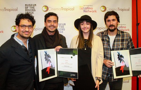 Filmmakers, Jayro Bustamante, Betzabé García, Lisandro Alonso.