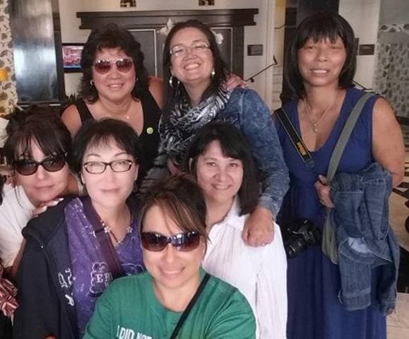 Members of 325Kamra at a hotel in Berkeley, California.