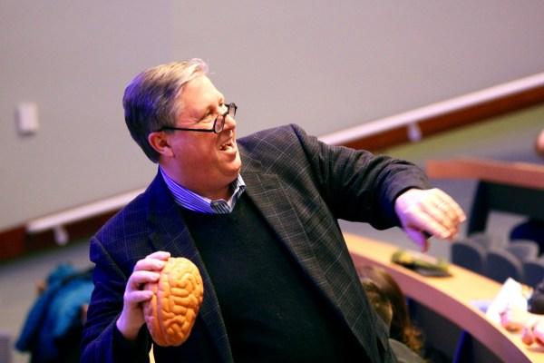 Image: UVM fights binge drinking with 'Wellness Experience' - Dr. James Hudziak
