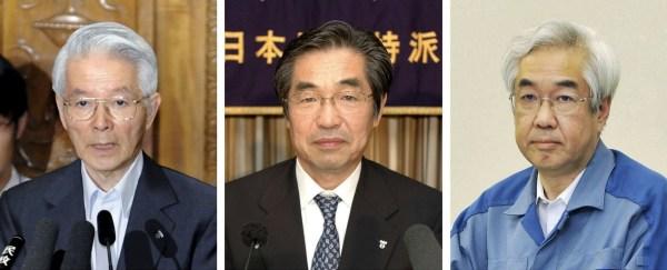 Image: Tsunehisa Katsumata, Ichiro Takekuro and Sakae Muto