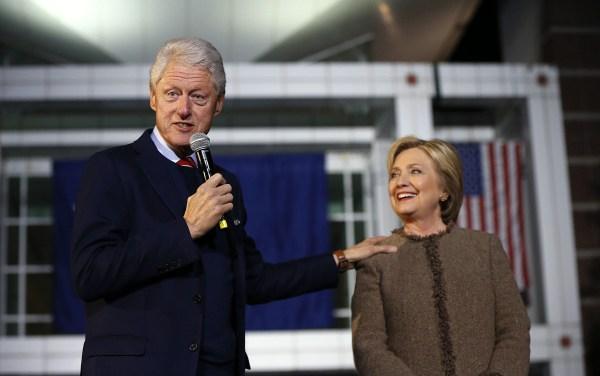 Image: Hillary Clinton, Bill Clinton