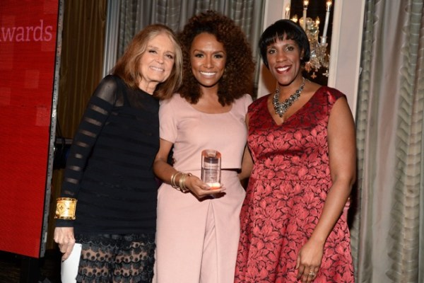 Gloria Steinem, Janet Mock, and Teresa Younger