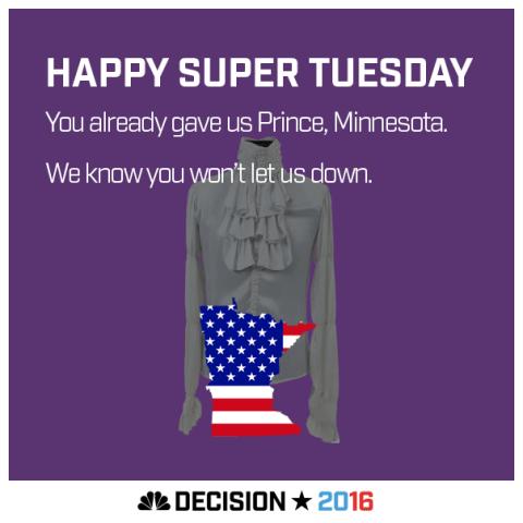 Happy Super Tuesday Minnesota!