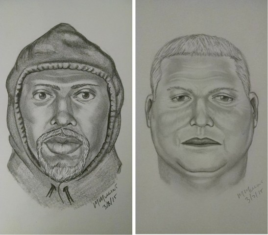 IMAGE: Gold theft suspects