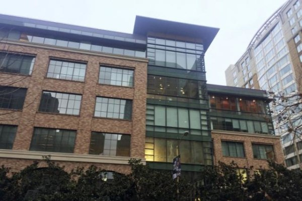 A view of Apple's new offices in San Francisco