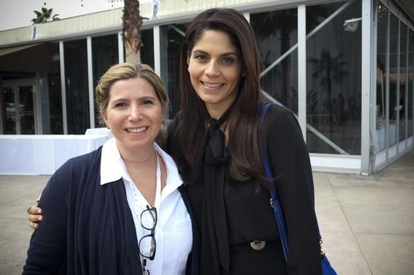 Marie Chalita of Televisa-Vanidades and Cristy Marrero of HOLA! at #WeAllGrow.