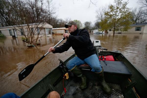 Image: Flooding in Bossier City, Louisiana
