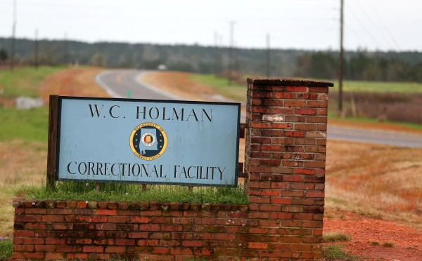 Image: Prison riot in Atmore, Ala., on March 12, 2016