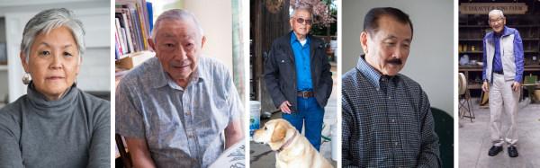 Satsuki Ina, Hiroshi Kashiwagi, Jim Tanimoto, George Nakano, Jimi Yamaichi
