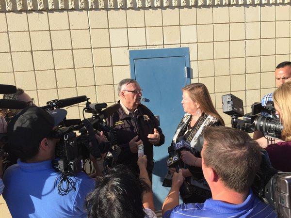 Image: Sheriff Joe Arpaio posted a picture on Twitter of his meeting with Jane Sanders at 'Tent City' in Maricopa County, Arizona.