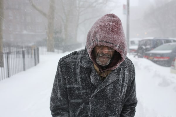 Image: Marvin Bolton, a homeless man living in Harlem