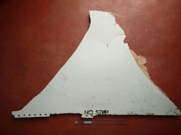Image: Malaysia Airlines MH370 Mozambique Debris